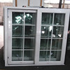 Double tempered clear glass aluminium window grills design pictures