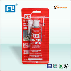red RTV silicone sealant industrial use (FL588)