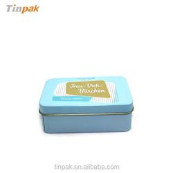 customized metal tin business card boxes