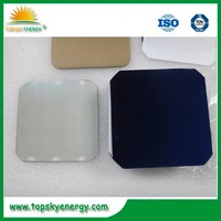 Highest efficiency solar cell,125mm mono solar cell 3.2-3.5w
