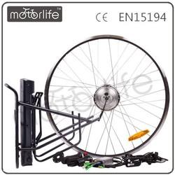 MOTORLIFE/OEM brand 2015 hot sale factory supplye bike conversion kit 350w