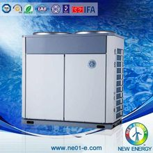 family and spa use heat pumps solar water heater for swimming pool project