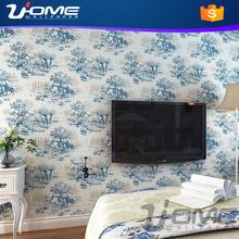 Uhome Latest Laurent eco-friendly european stytle paper wallpaper 3d muro murales carta da parati