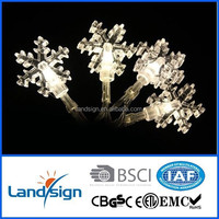 XLTD-120 Cixi Landsign 2015 new Christmas light decorative holiday living lights series christmas star icicle light