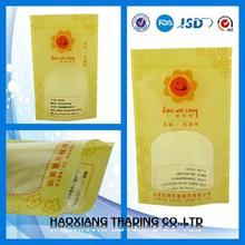 uht milk/breast milk storage bag/water resistant plastic bag