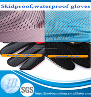 Waterproof skidproof gloves Neoprene Fabric rubber with factory price