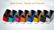 OLED Gifts New most fashionable bluetooth bracelet watch cheapest bluetooth vibrating bracelet