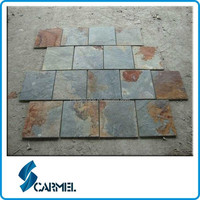 China Natural Rusty Slate Tile for Flooring
