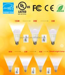 UL/CE /FCC switch dimmer energy saving led bulb dimming lampada led via 3-way 4-way
