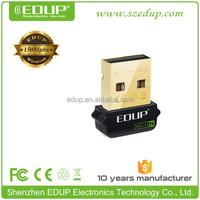 High gain 150M mini laptop external USB Wireless network card driver free rtl8188cu beini wifi usb adapter