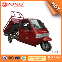 High Quality Heavy Load Famous Lifan Brand 250CC Engine Drived Cargo Trike Motorcycle With Full Closed Driver Cabin