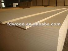 2mm-25mm E2 Glue 4*8 Middle Density Fiber mdf board