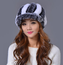 chinese winter clothing shop/cony fur beanie/custom winter hat