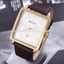2015 Fashion Style men's watches Big Rectangle Watches Men's Wrist Watch