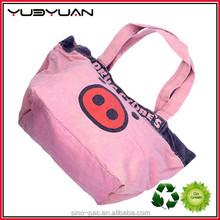 2015 High Quality Cotton Hand Bag And Fashion Design Tote Handbag