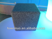 weinuo LED stone cube chair 3195