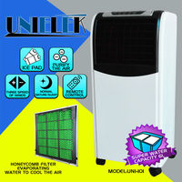 220v Mini air cooler ionizer purify ice pack cooling evaporation water air cooler fan