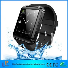 new arrived for 2015 waterproof U8 smart watch phone