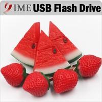 Pen Drive Silicone Watermelon Strawberry 4gb/8gb/16gb/32gb/64gb Fruit Drives Flash Pendrive Usb Flash Drive Memory Stick Gift