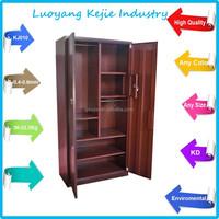 2 door steel wardrobe locker cupboard bedroom cupboards design