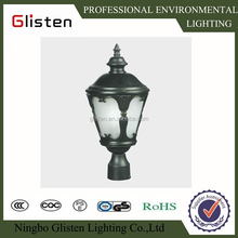 antique style waterproof HPSL metal holide energy saving garden light