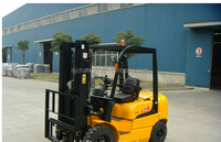 Diesel Forklift truck CPCD25 used toyota 3l engine used forklift for sale