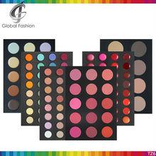 Environmental protection Paper material 6layers professional makeup kit