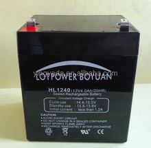 sealed lead acid solar gel ups deep cycle 12v 4ah 20hr battery for solar