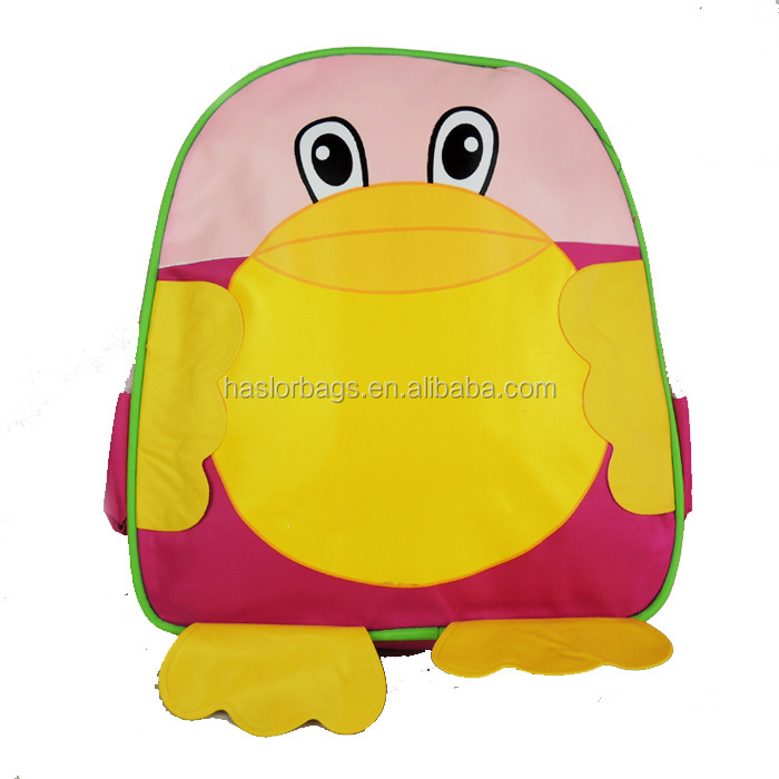Mignon et drôle forme école animaux sac à dos pour enfants