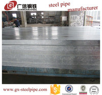 High quality and low price erw galvanized round steel pipe