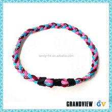 Custom Germanium titanium necklace cord wholesale,satin cord necklace,braided necklace cords