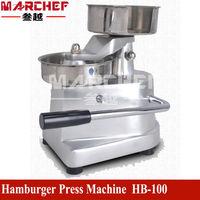 100MM Commercial Manual Hamburger Patty Press Round Meatball Shaping Machine