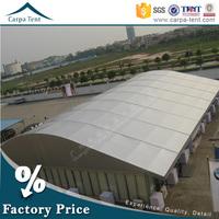 Waterproof roof fabric big outdoor permanent event dome tent