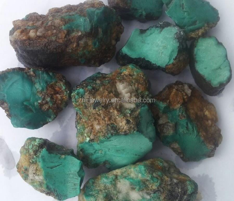 Dureza turquesa del jade piedra en bruto gemas a granel for Piedra preciosa turquesa