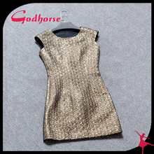 2015 Lady Sleeveless Sexy Package Hip Dress