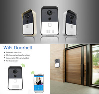 Top sale! Smart door bell, Wifi door bell, video door bell phone with camera