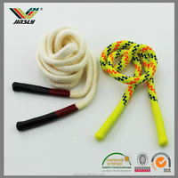 5mm High quality multicolor custom cotton braiding clear silicone rope
