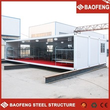 precision welding prefab folding 40ft shipping container house