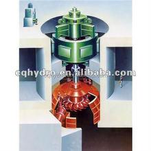 Venta Pelton rueda Turbine100 Kw / pequeño Pelton generador de 100 Kw