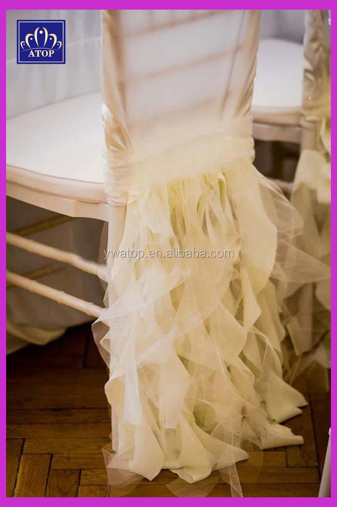 tulle chair covers wedding swirl chair caps for chiavari chairs buy