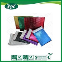 wholesale colored aluminum foil custom printed bubble metalic mailing padded envelopes ,mail bags