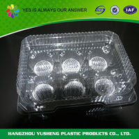 Plastic material food use novelty packaging box food