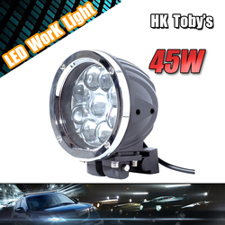 ONsale Auto Part 4x4 off road accessories 5 inch round led driving light 45w led work light