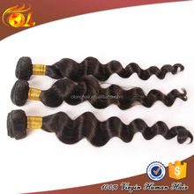 Wholesale price 5A grade hot selling unprocessed double drawn natural color aliexpress hair