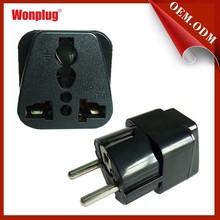 universal plug adapter, Euro adapter plug approval CE