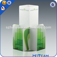 Professional Acrylic Magzine Book holder Office Table Tent Acrylic Brochure Holder