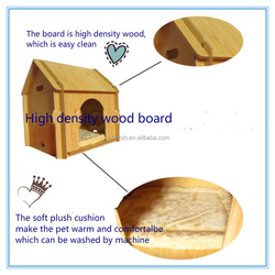 Cute Pin Wooden Pet Outdoor House