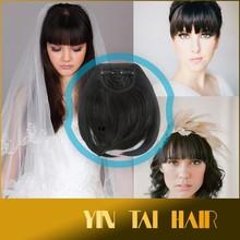 TV Crazy Selling Hair Bangs, 100% Virgin Brazilian Human Hair Bangs Extension