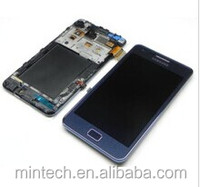 Replacement LCD assembly with frame For Samsung Galaxy S2 SII Plus I9105 Blue