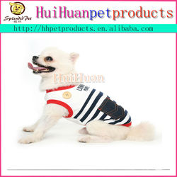 Spring and summer pet clothing dog clothes cute pet dog sailor suit
